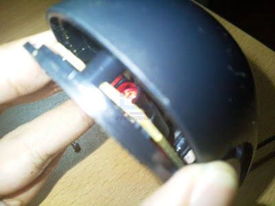mouse a medio abrir