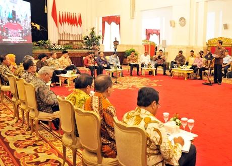 Sebagai Panglima Tertinggi TNI, Presiden Jokowi: Jangan Ciptakan Kegaduhan