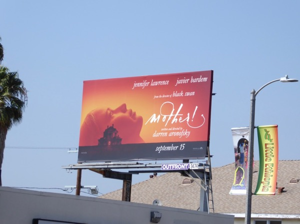 Mother film billboard