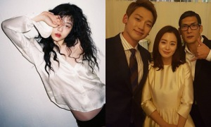Sao Hàn 20/1: Bi Rain - Kim Tae Hee cười hạnh phúc, Sulli mặc thiếu vải