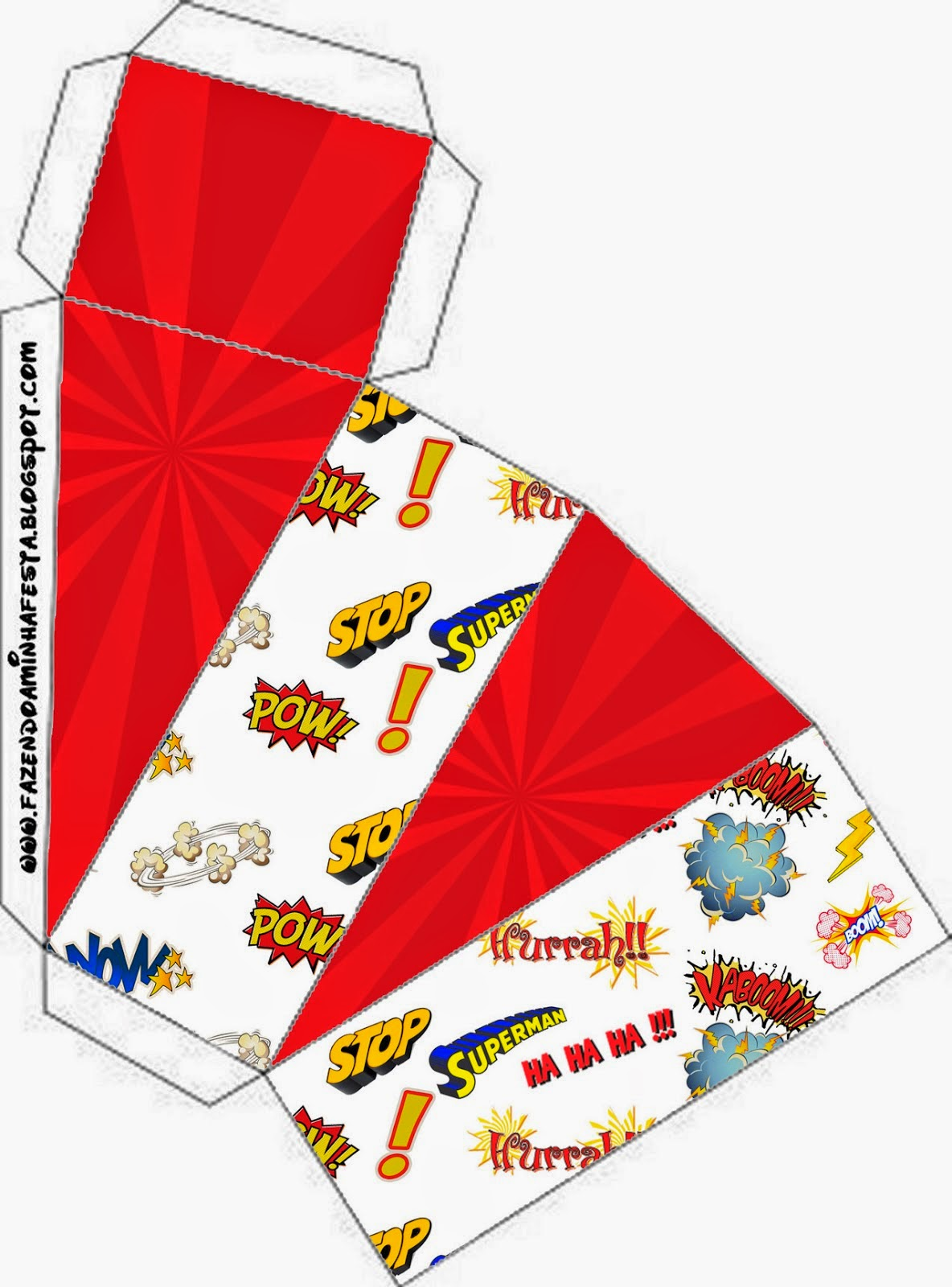 Superheroes Free Printable Boxes Oh My Fiesta In English