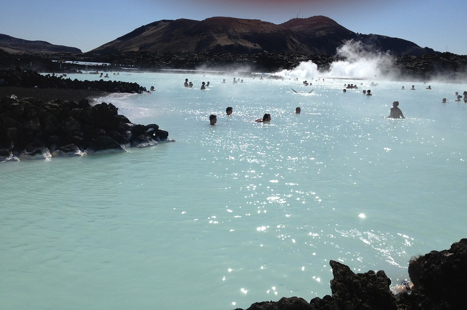 Holiday Ideas for Families with Tweens  - Blue Lagoon Iceland