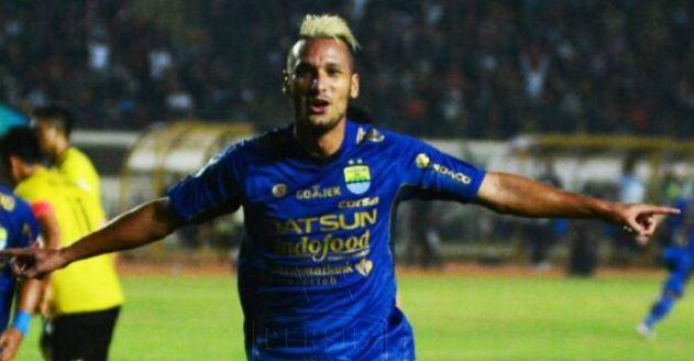 Video Gol Persib Bandung vs Persegres Gresik United 6-0