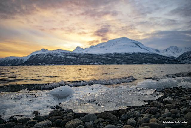 Atardecer en Noruega Ártica - Tromsø por El Guisante Verde Project