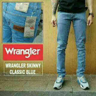 celana jeans skinny pria wrangler