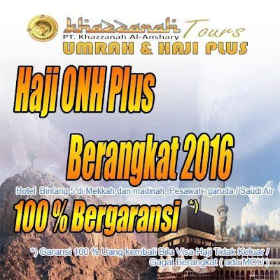 Haji Plus 2016 Khazzanah Travel