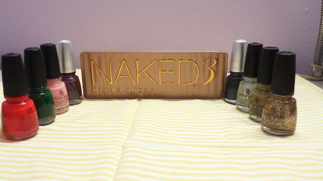 HAUL + REVIEW   Naked 3 and China Glaze