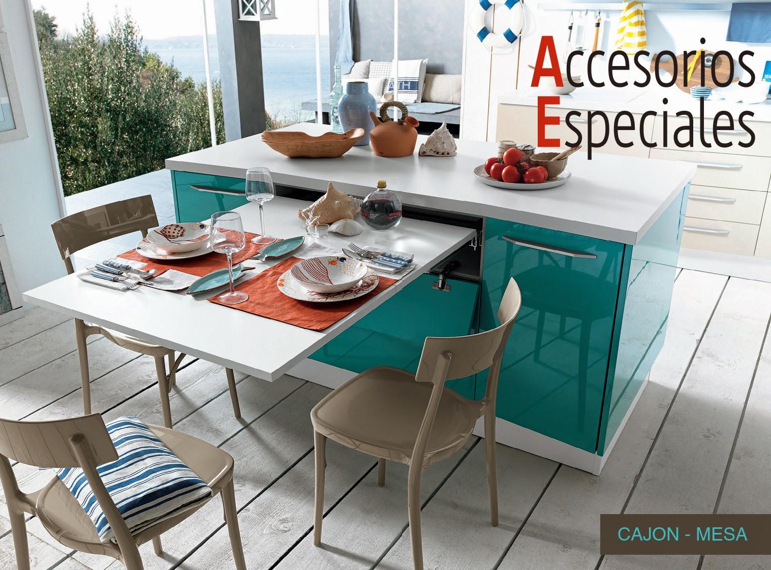 Mesa Extraible Cocina | Fabricado Por C Andg Arte Y Decoración ...