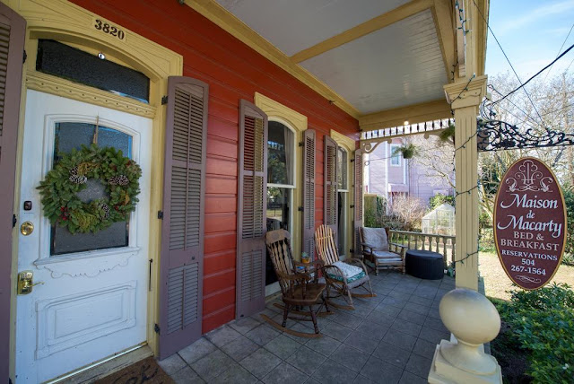 Maison de Macarty is a historic bed & breakfast guest house/hotel in the Bywater Historic District of New Orleans, Louisiana.