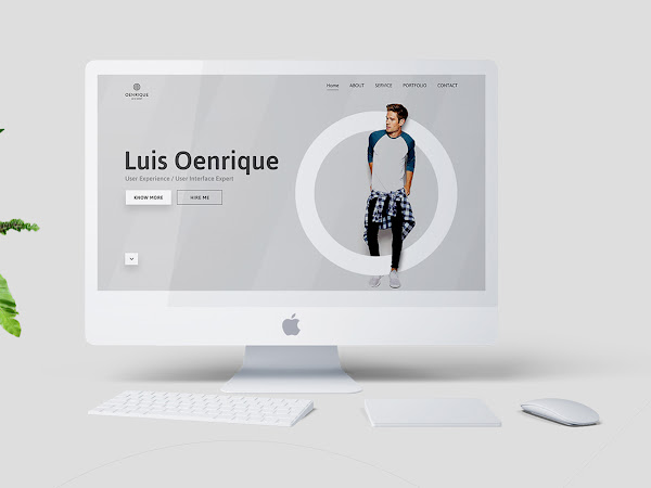 Download Personal Portfolio Template PSD Free