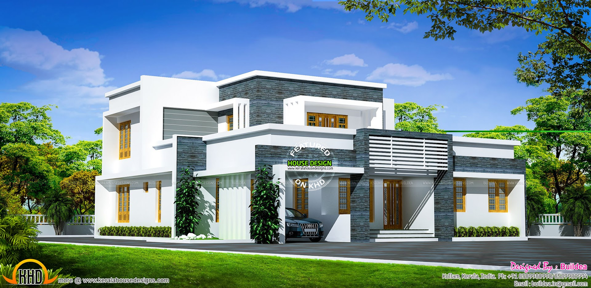 4 bhk house in an area of 2742 square feet kerala home for 4 bhk home design
