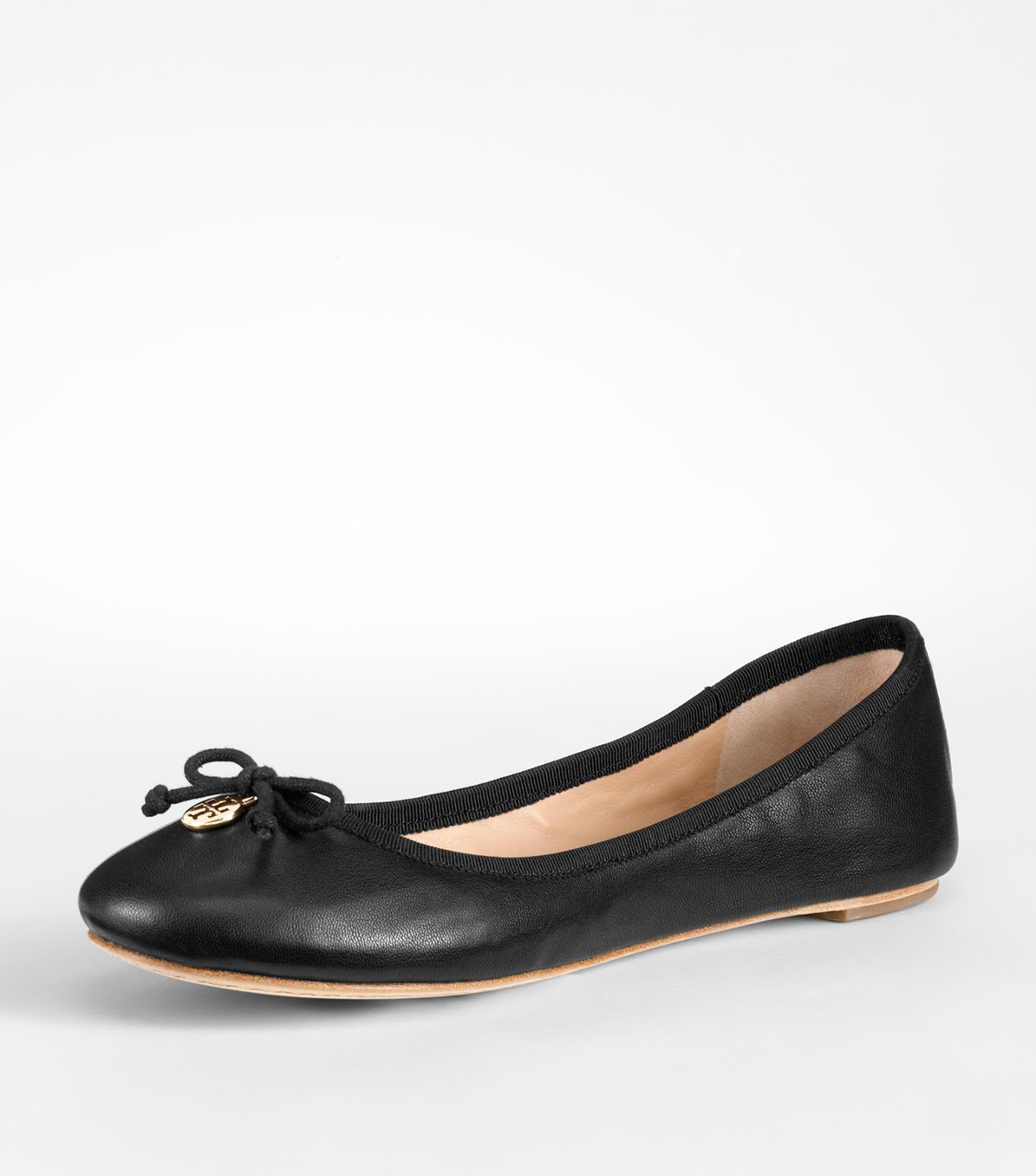 eac59e4a8d7e Tory Burch studied an actual ballet slipper when she designed this wardrobe  staple. So the soft leather