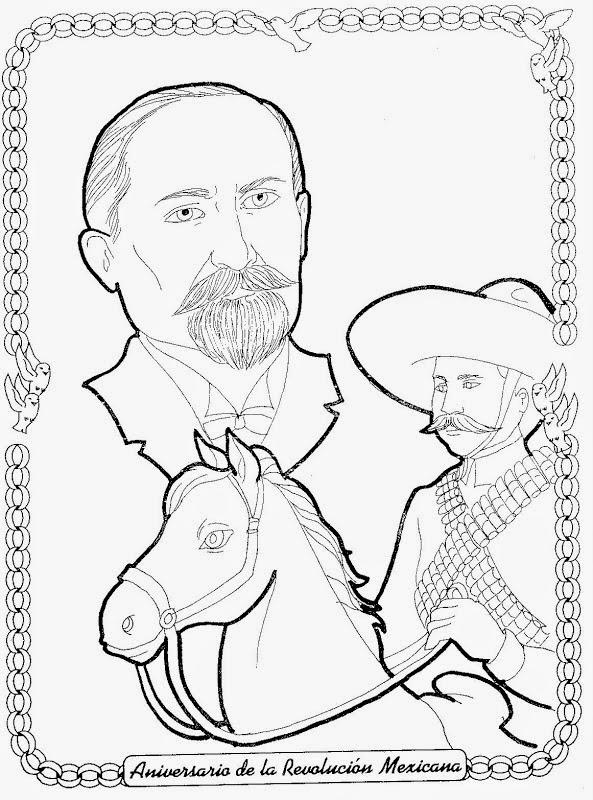 Dibujo Revolucion Mexicana Infantil