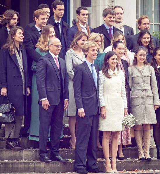 Princess Alessandra wore Chanel dress. Beatrice Borromeo, Charlotte Casiraghi. Dimitri Rassam, Alexandra, Tatiana