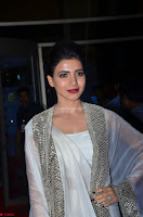 Samantha Ruth Prabhu cute in Lace Border Anarkali Dress with Koti at 64th Jio Filmfare Awards South ~  Exclusive 055.JPG