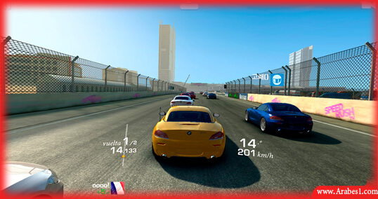 افضل العاب السيارات للاندرويد : Real Racing 3