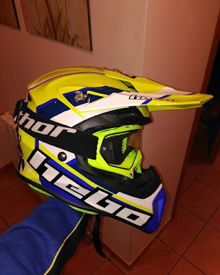Nueva temporada 2018, casco Hebo, trial, cross