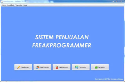 Download Source Code Program Database Penjualan Netbeans Gratis
