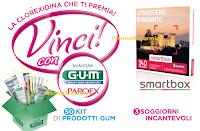 Logo Gum : vinci kit di prodotti per l'igiene orale e soggiorni incantevoli
