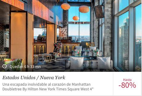 Vuelo + hotel a Nueva York paquetes de viajes
