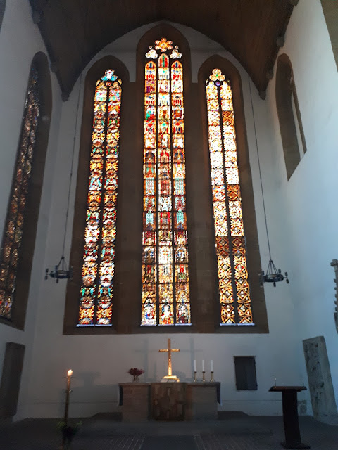 Inside Martin Luther's monastery aka St. Augustine's Monastery in Erfurt