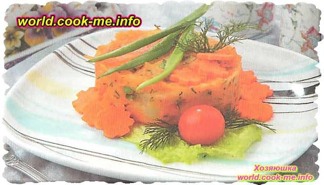 Рецепт картофельно - овощного пюре