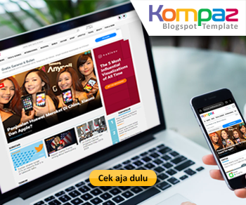 Kompaz Blogger Template - XMLThemes