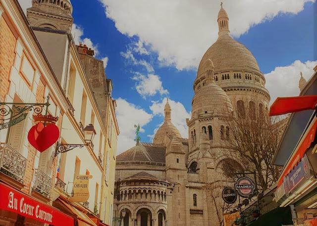 Parigi, Sacre Couer e la zona degli artisti