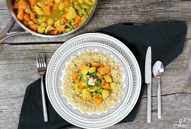 chicken sweet potato curry recipe