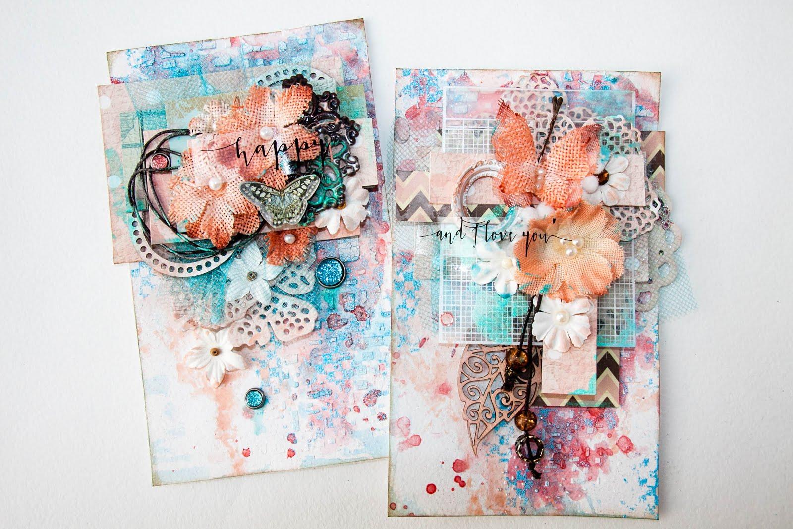 Мк по многослойным открытками, днем рождения человеком