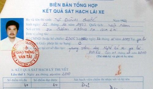 Gia Lai: Phát hiện gần 1.000 giấy phép lái xe giả