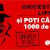 Castiga 1000 lei pe cuvant la Europa FM