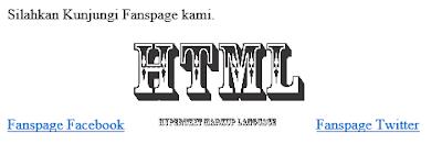 inline html