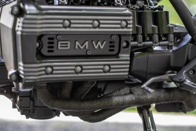 BMW K75 By Industrial Moto Hell Kustom