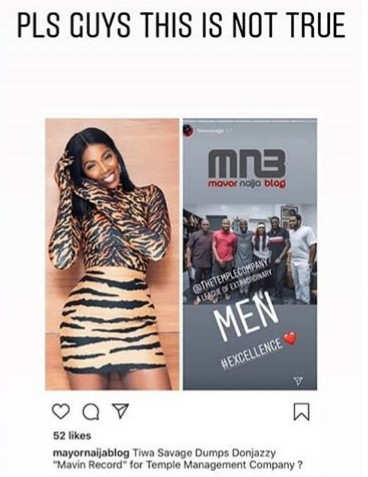 Tiwa Savage Breaks Silence On Mavin Exit Rumours