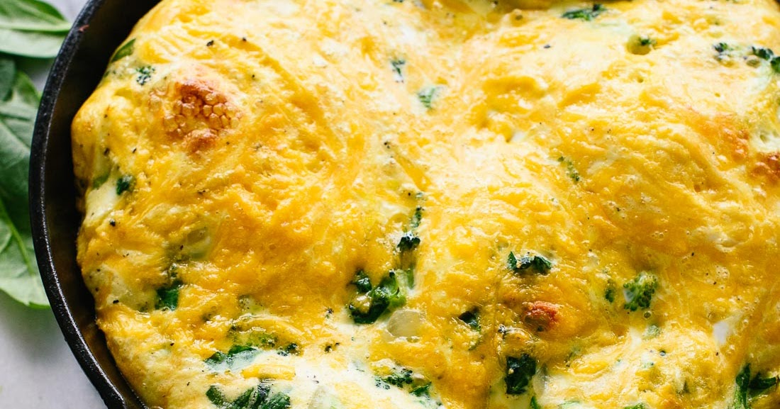 IC Friendly Recipes: Broccoli, Cheddar & Spinach Frittata