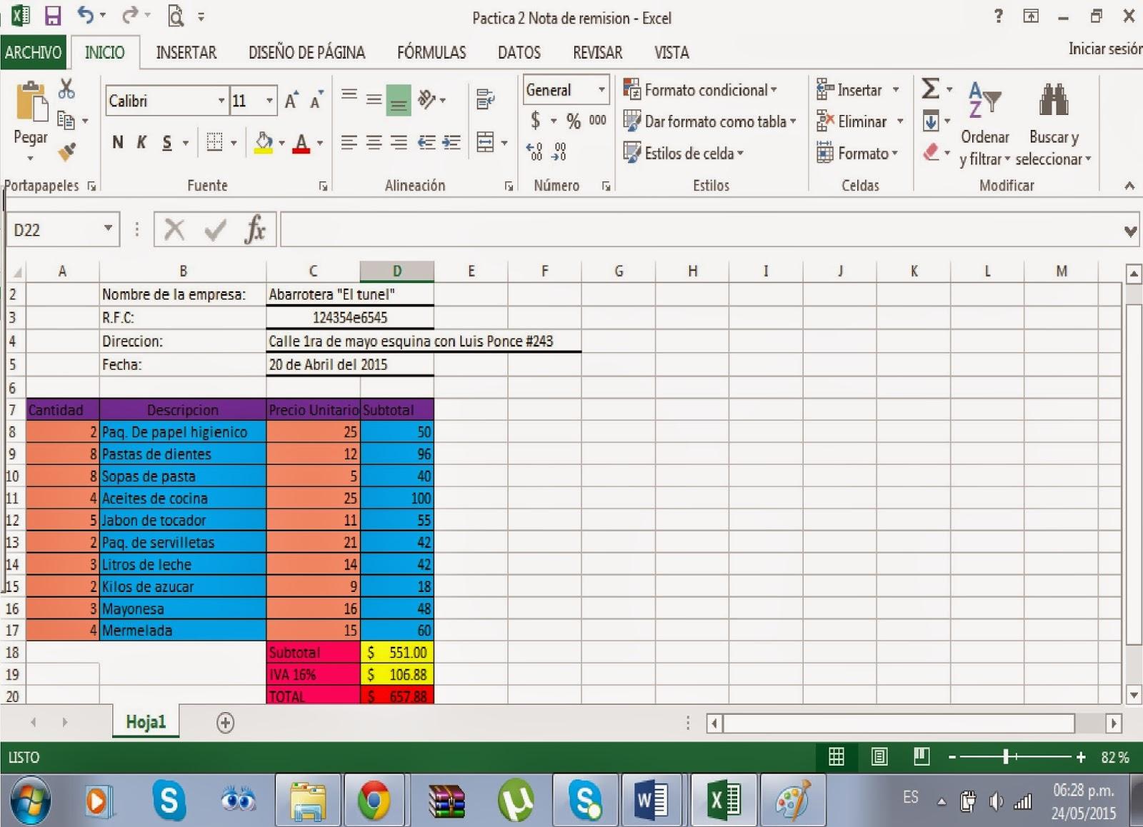 Conociendo El Entorno De Excel