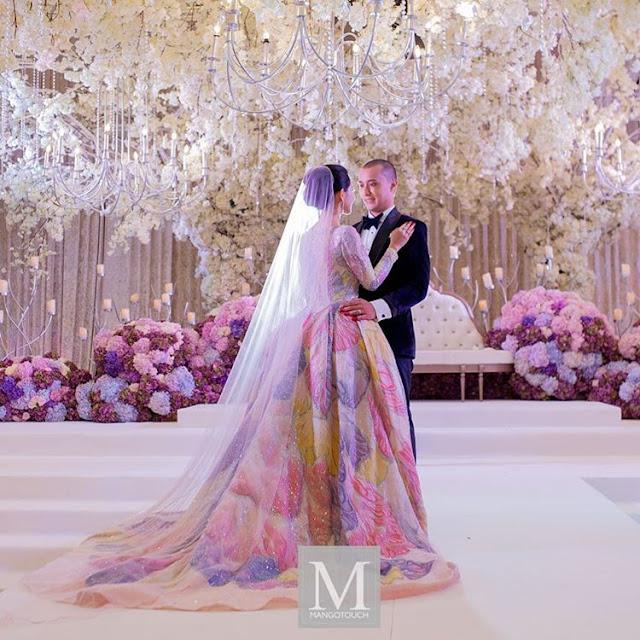 Majlis Resepsi Perkahwinan Artis Anzalna Nasir