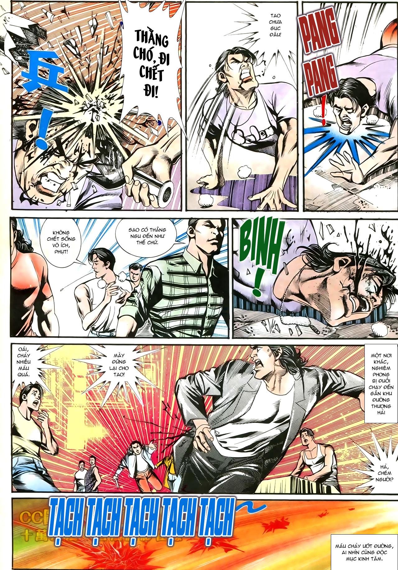 Người Trong Giang Hồ chapter 197: quạ đen báo thù trang 15