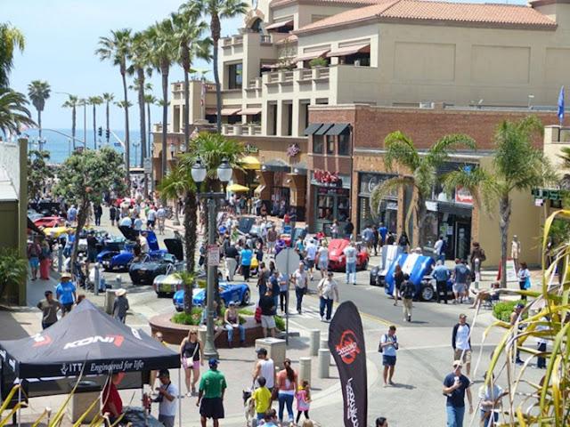 Tour pela Main Street em Huntington Beach