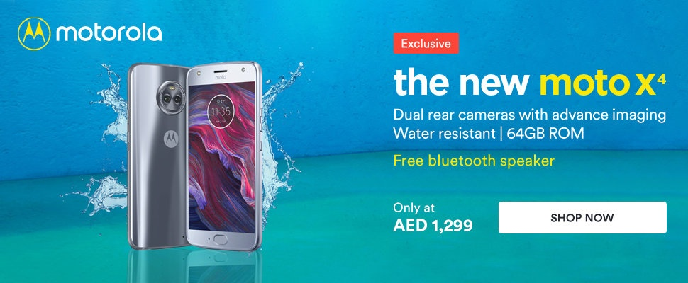 Moto X4 at just AED1299 00 in Souq com - Offers in Dubai