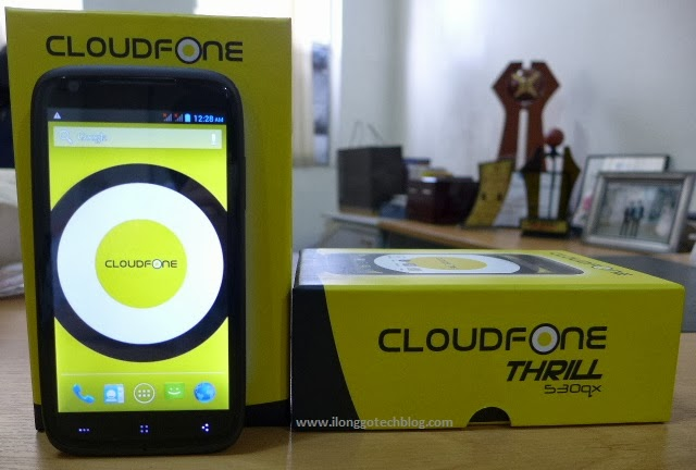 CloudFone Thrill 530qx with retail box