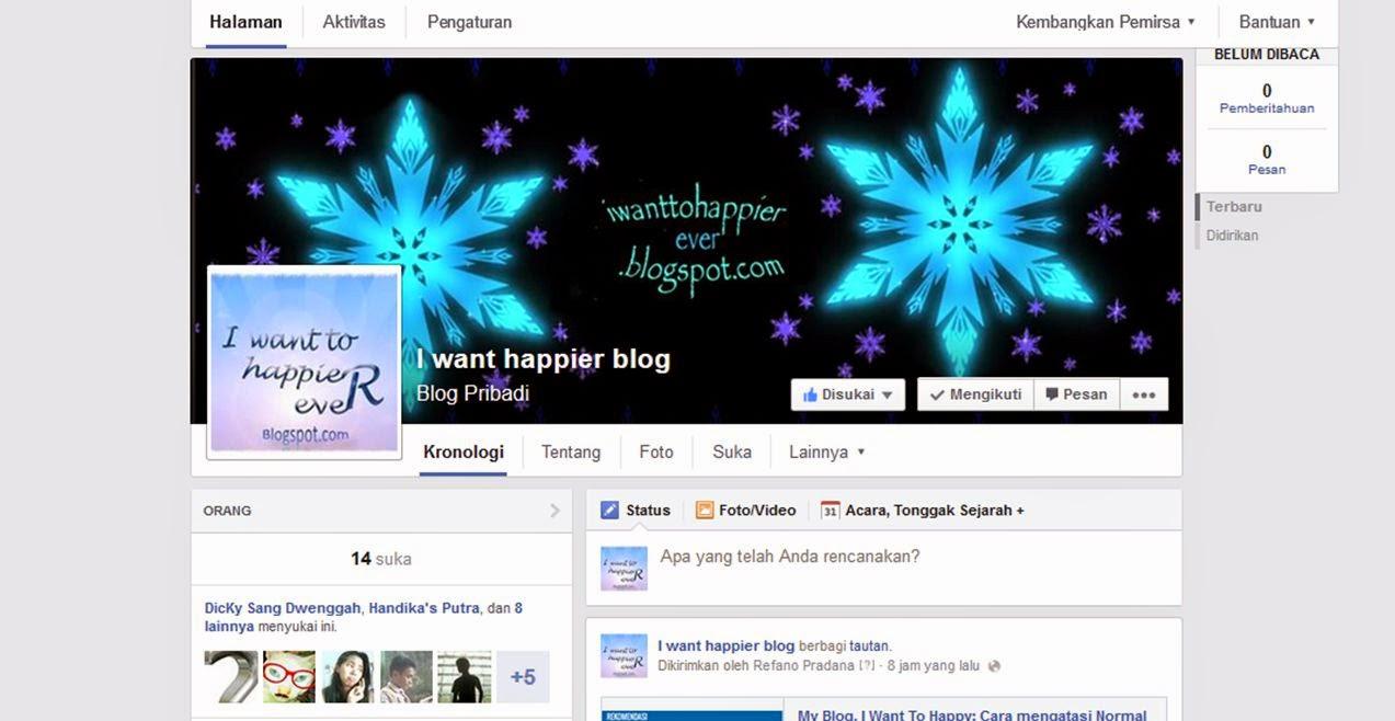 tampilan baru fanspage facebook 2014