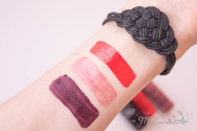 Comparando Labiales de NYX: Butter Gloss, Intense Butter Gloss y Soft Matte Lip Cream.