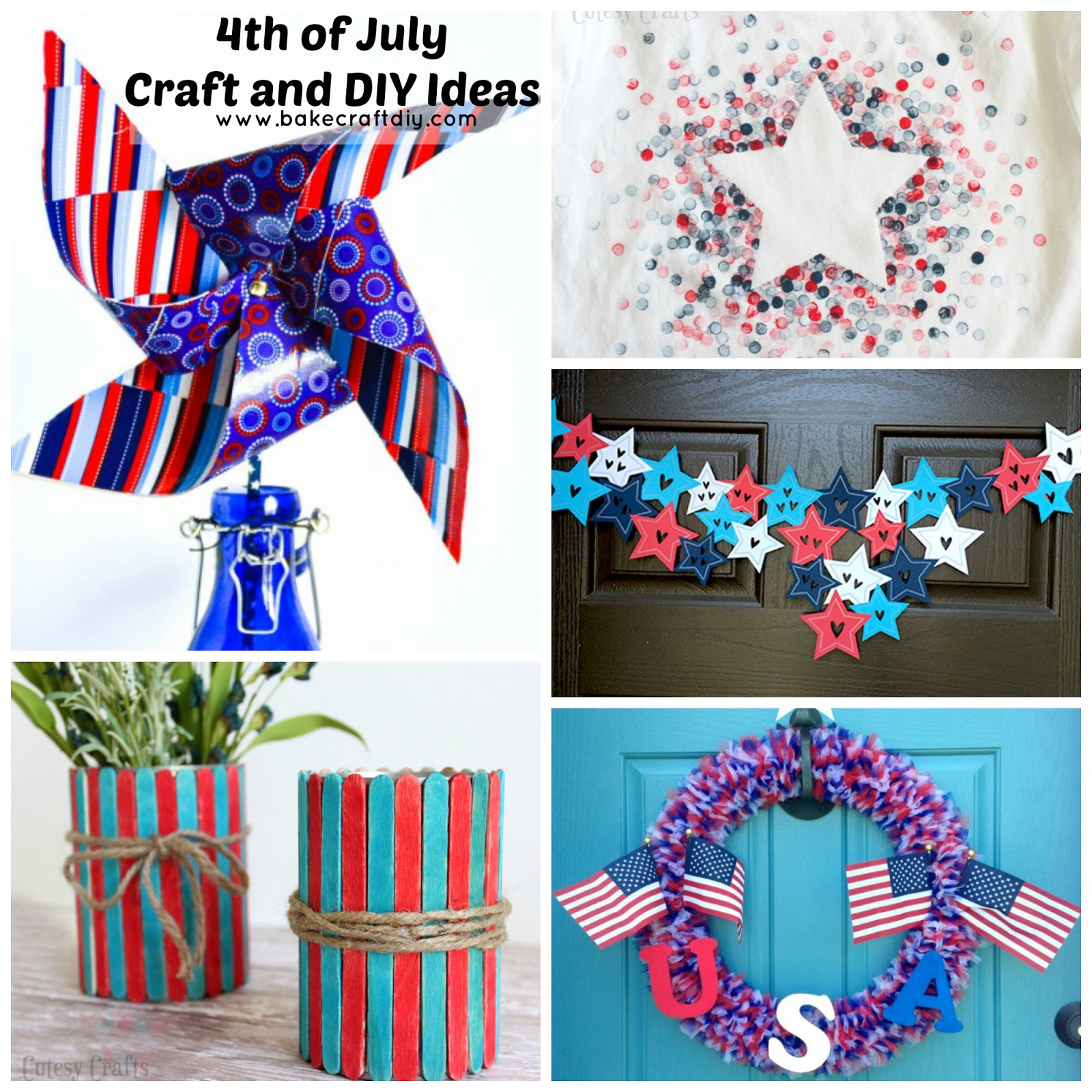 Bake Craft Diy 4th Of July Crafts And Diy Ideas