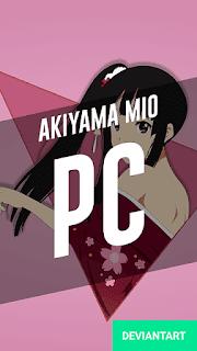 Akiyama Mio - K-On Wallpaper