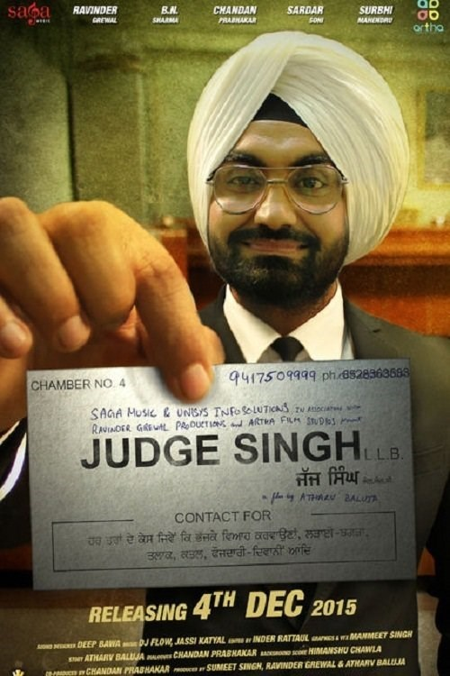 Judge Singh LLB (2015) Punjabi 720p HDRip x264 1.1GB ESubs