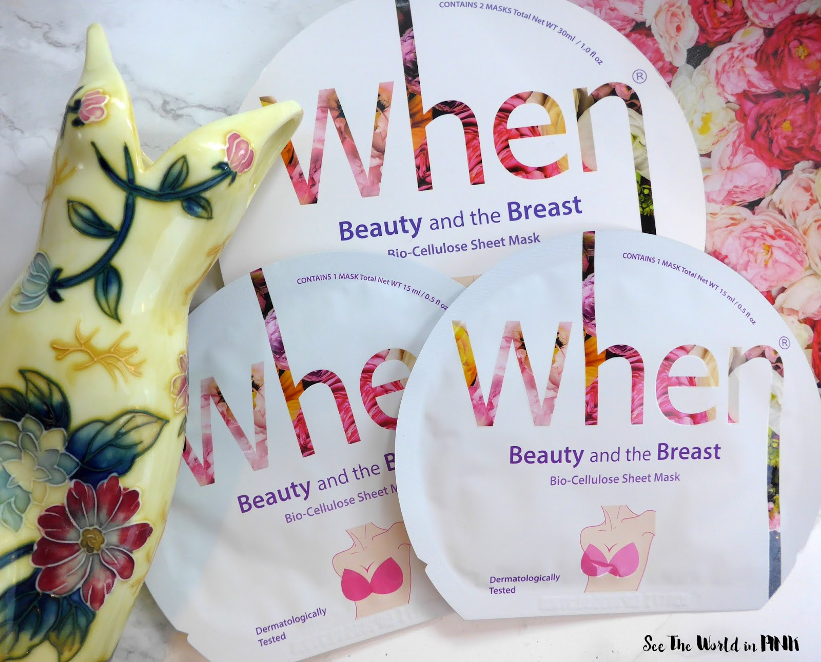 Skincare Sunday - When Beauty and the Breast Bio-Cellulose Body Sheet Mask