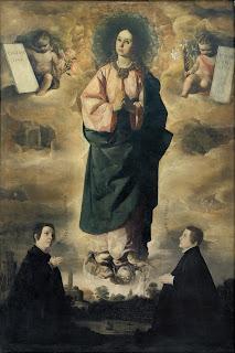 Z06 Francisco de Zurbarán - La Inmaculada 1632 - Museo Nacional de Arte de Cataluña (Barcelona)