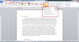 cara membuat halaman di word 2007 untuk skripsi